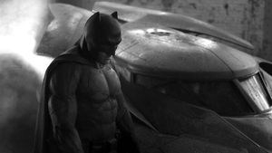 Muskelpaket Ben Affleck: Das erste Bild als Batman