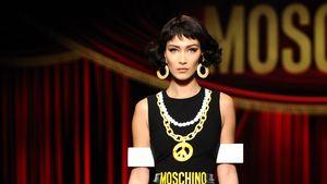 Bella Hadid bei der Moschino-Show