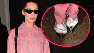 Fashion-Fail bei Fashion-Week? Bella Hadids irrer Schuhstyle