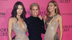 "Bella, Yolanda und Gigi Hadid bei der ""Victoria's Secret Fashion Show 2016"" in Paris"