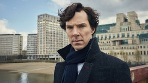 """Sherlock""-Star Benedict Cumberbatch"