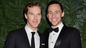 "Benedict Cumberbatch und Tom Hiddleston beim ""Evening Standard Theatre Awards"" in London"