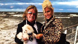 Bert und Sophia Wollersheim an der See