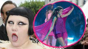"""Beth Ditto und Céline Bethmann beim Finale von """"Germany's next Topmodel"""" 2017"""