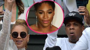 Beyoncé, Serena Williams und Jay-Z