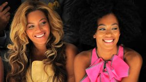 Beyonce und Solange Knowles bei der Fashion Week in New York