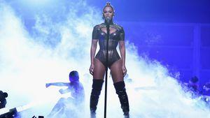 Beyoncé während eines Auftritts