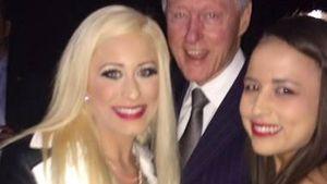 Bill Clinton: Vorliebe für Fotos mit Porno-Stars?