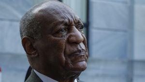 Bill Cosby nach einer Gerichtsverhandlung