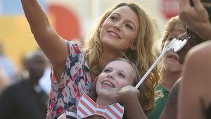 Blake Lively mit ihrer Nichte Heather bei einem Event in New York