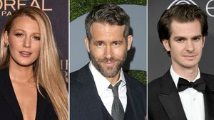 Blake Lively, Ryan Reynolds und Andrew Garfield