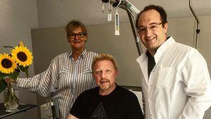 Völlig unvermittelt: Boris Becker postet Krankenhaus-Pic!