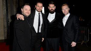 Boyzone bei einer Veranstaltung 2014 in London