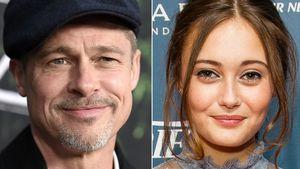 32 Jahre jünger: Brad Pitt soll eine neue Freundin haben!