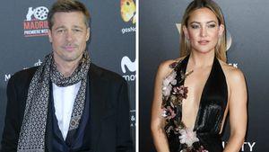 Brad Pitt und Kate Hudson