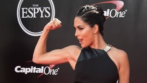 Brie Bella bei den Espy Awards in Los Angeles