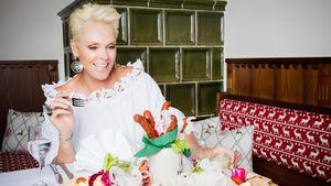 """Brigitte Nielsen als """"Wirt""""-Kupplerin für die RTL II-Show """"Wirt sucht Liebe"""""""