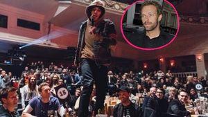 Wilder Auftritt: Metalband randaliert auf Coldplays Tisch!