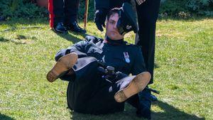 Soldat ist bei Prinz Philips Beisetzung ohnmächtig geworden