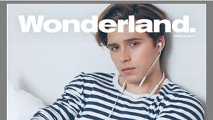 """Brooklyn Beckham auf dem Cover der Zeitschrift """"Wonderland"""""""