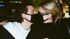"""""""Beschütze dich"""": Brooklyn und Nicola knutschen mit Maske"""