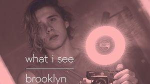 """Cover für das Foto-Buch """"what i see"""" von Brooklyn Beckham"""