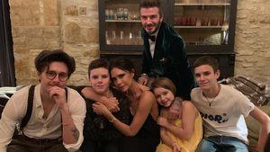 Papa war zu gut: Beckham-Jungs hängen Fußball an den Nagel