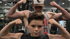 Sport-Action: Cruz Beckham macht Bruder Brooklyn Konkurrenz