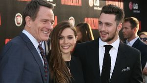 Elizabeth Olsen, Bryan Cranston und Aaron Johnson