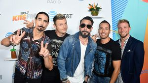 Statt Alkohol: Backstreet Boys haben backstage Kinder-Trubel
