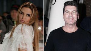 "Busenwunder Katie Price und ""X-Factor""-Juror Simon Cowell"