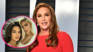 So süß wurde Caitlyn Jenner von Kendall und Kylie empfangen
