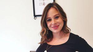 Schwangere Camilla Thurlow ist seit einigen Tagen überfällig