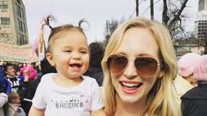 Candice Accola mit Töchterchen Florence May