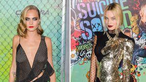 Cara Delevingne & Margot Robbie: Sexy Suicide-Squad-Premiere