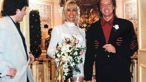 So sahen Carmen und Robert Geiss bei ihrer Hochzeit 1994 aus