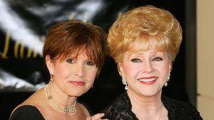Carrie Fisher und Debbie Reynolds 2007 in Henderson