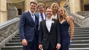 Selten: Veronica Ferres postet Familienbild mit allen Kids