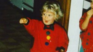 Cathy Hummels als kleines Mädchen
