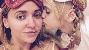 Cathy Lugner mit ihrer Tochter