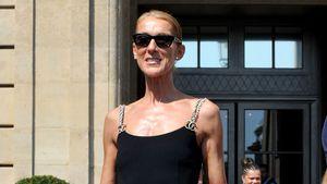 In Paris: Céline Dion wechselte Outfit fünfmal an einem Tag