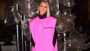 Stylish oder daneben? Celine Dion im pinken Prada-Jogger