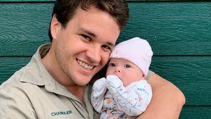 """""""Mein Buddy"""": Chandler Powell teilt süßes Baby-Pic von Grace"""