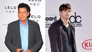 Charlie Sheen und Ashton Kutcher