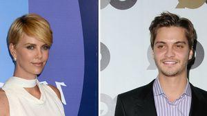 Charlize Theron und Luke Grimes