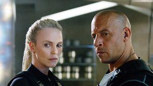 """Charlize Theron und Vin Diesel in einer Szene von """"Fast & Furious 8"""""""