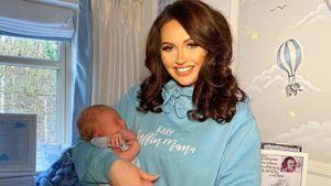 """Die Geburt von Charlotte Dawsons Sohn war """"dramatisch""""!"""