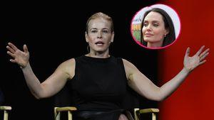 Chelsea Handler und Angelina Jolie