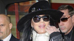 Am frühen Abend gelandet: Cher ist in Berlin!