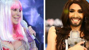 Conchita Wurst und Cher